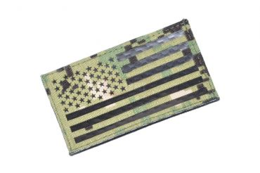 Infrared Reflective Patch - USA Flag ( Forward ) ( AOR2 ) ( Free Shipping )