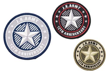 J.K.ARMY 12th Anniversary Patch ( Limited Edition )