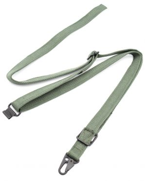 LDT MP5 3 Point Tactical Sling Strap Quick Hook ( Olive Drab ) ( MP5A5 Sling )