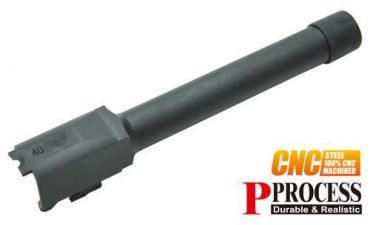 Guarder .40 Threaded Steel Outer Barrel for TM M&P9 (14mm CCW)