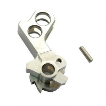 Match Grade Stainless Steel Hammer for Hi-capa Type D (Silver)