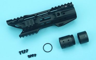 G&P Multi-Task Fore Change System 8 Inch Shark M-Lok Rail for G&P M.T.F.C. System