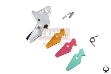 Ace1 Arms S STYLE Flat-face Trigger Set for WE M&P SERIES ( Silver )