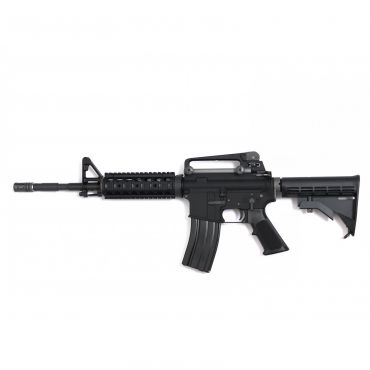 WE M4 RIS Gas Blow Back Open Chamber Rifle GBB Rifle ( Black )
