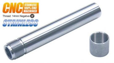 Guarder Stainless Threaded Outer Barrel for TM P226 (14mm Positive) (SV)