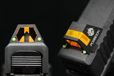 Poseidon CYCLOPS Universal Front and Rear Sights for G Model Airsoft