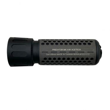 Acetech Predator MKII Silencer M14 CCW with Brighter C Tracer Inside ( Black )