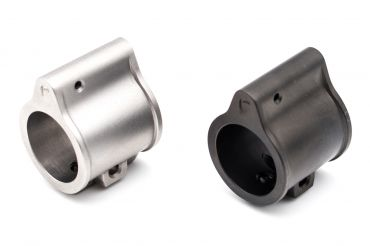 Pro&T G Style Super Gas Block for Airsoft ( MIM Stainless Steel ) ( Black / Silver )