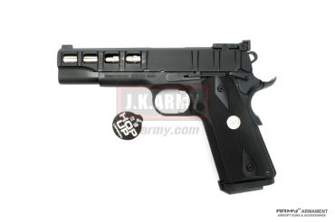 ARMY Rectangle Texture M1911A1 GBB Airsoft Pistol ( BK )