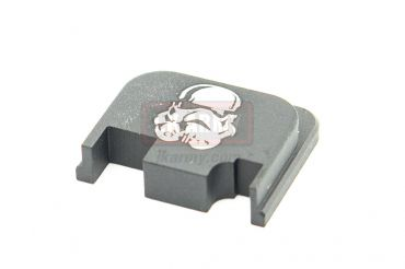 Pro-Arms Airsoft Slide Rear Plate for Umarex / VFC Glock - White Trooper