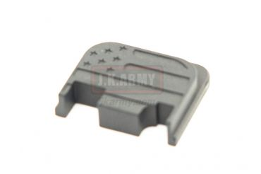 Pro-Arms Airsoft Slide Rear Plate for Umarex / VFC Glock - USA Flag