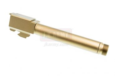Pro-Arms Airsoft Aluminum 14mm CCW Threaded Outer Barrel for TM Model 17 Pistol ( GD )