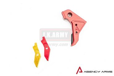 RWA Agency Arms Trigger for Tokyo Marui Model 17 ( Red )