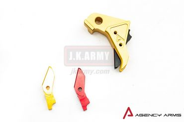 RWA Agency Arms Trigger for Tokyo Marui Model 17 ( Gold )