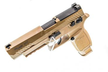 SIG AIR P320 M17 6mm Gas Version GBB Pistol ( Tan ) ( Licensed by SIG Sauer ) ( by VFC )