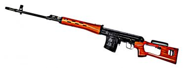 WE ACE VD ( SVD ) Sniper GBB Rifle ( Real Wood , Steel Receiver )