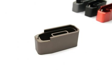 CNC Aluminum Mock - Extension for Polymer Magazine M3 B*M Style for PTW & GBB ( MWS ) ( Burnt Bronze )