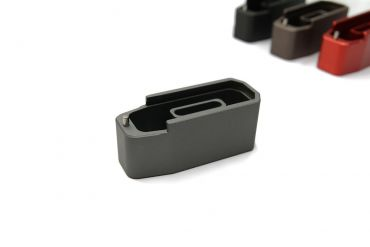 CNC Aluminum Mock - Extension for Polymer Magazine M3 for PTW & GBB ( MWS ) ( Grey )