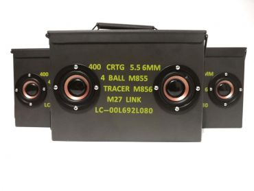 FCC BT Portable Ammo Can Speakers ( Bluetooth )
