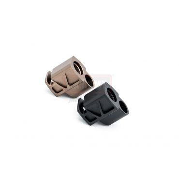 Revanchist Airsoft Compensators For SIG P320 M17 GBBP ( Tan / Black )