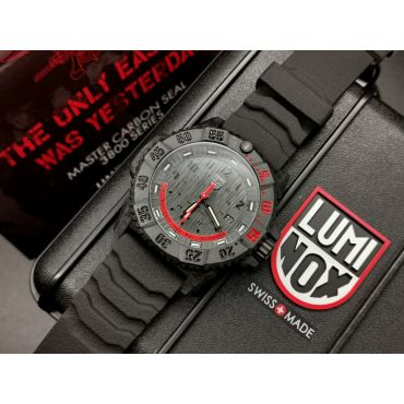 Luminox Watch Navy SEALs Master Carbon Limited Edition XS.3801.EY