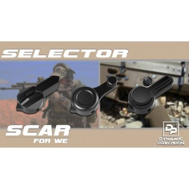 Dynamic Precision Aluminum Selector for WE SCAR (Type B BK )