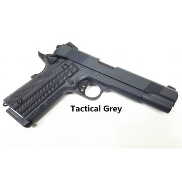 Unicorn Precision Inc x Angry Gun Custom 1911 Gas Blow Back Pistol ( Basic Version ) ( Tactical Grey )