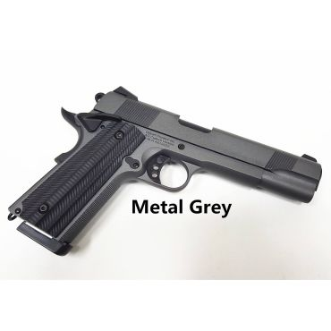 Unicorn Precision Inc x Angry Gun Custom 1911 Gas Blow Back Pistol ( Deluxe Version ) ( Metal Grey )