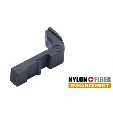 Guarder Extended Magazine Release for Marui Model 19 GBBP ( BK )