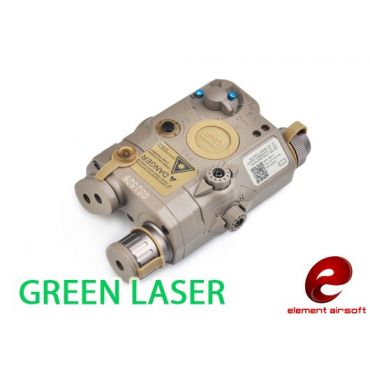 Element PEQ LA5 UHP Advanced Target Pointer Green Laser Illuminator Aiming Light ( PEQ15 LA-5 UHP ) ( DE )