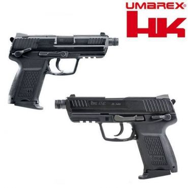 Umarex HK45 Compact Tactical GBB Pistol Airsoft ( VFC Asia Version / Black ) ( HK45CT )
