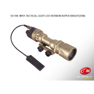 Element EX108 Tactical Light LED Version ( DE )