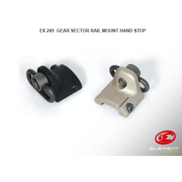 Element GS Style Rail Mount Hand Stop (DE)