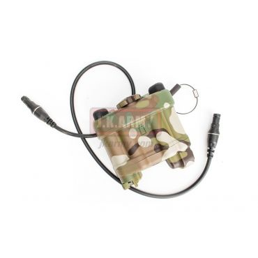 FMA AN/ PVS31 LPBP Battery Box Dummy w/ Wire ( Multicam ) ( JK Custom )
