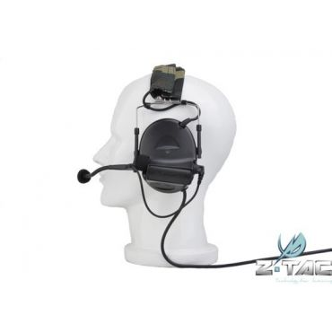 Z-Tactical zCOMTAC II Noise Reduction Headset ( BK )