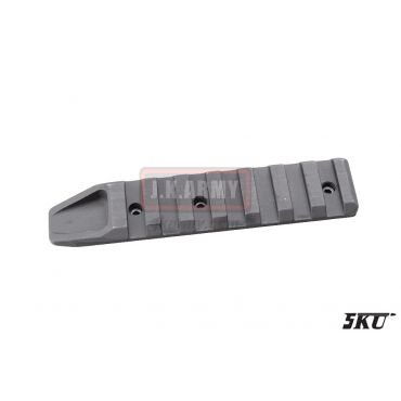 5KU 7 Slot Rail Section KeyMod