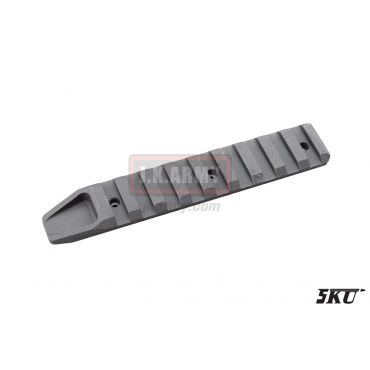 5KU 7 Slot Rail Section KeyMod ( DE )