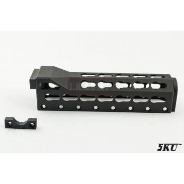 5KU AK Alfa Keymod Rail For Upper Rail Handguard ( Black )