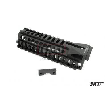 5KU B10M Lower Rail Handguard for AK Series Rifle ( BK )
