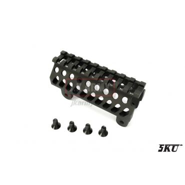 5KU B19 Upper Rail Handguard for AK Series Rifle ( BK )