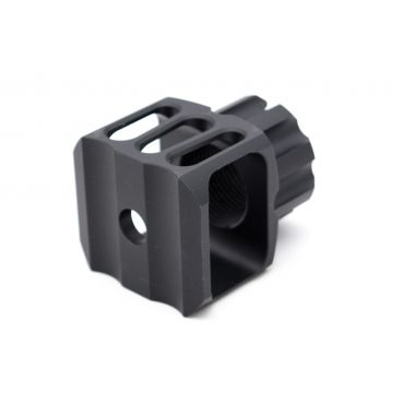 5KU LAF-24 Muzzle Brake 24mm Clockwise ( Black ) ( AK Series )