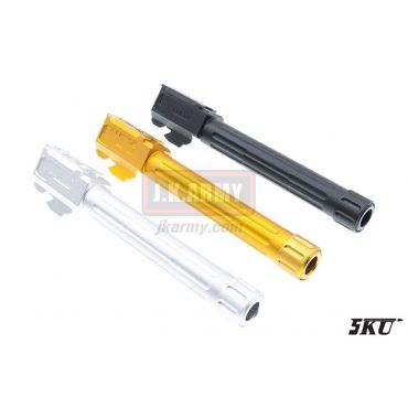 5KU 9INE 14mm CCW Threaded Barrel for Tokyo Marui Model 17 GBB Series