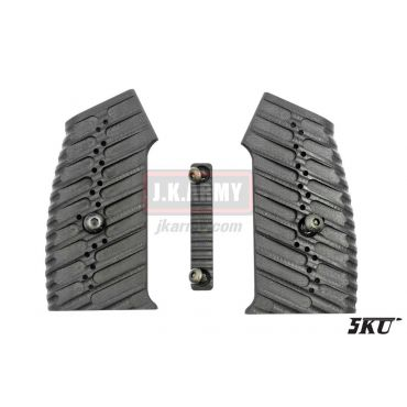 5KU CNC Moduler M4 GBB Grip Cover Set ( Type 3 )