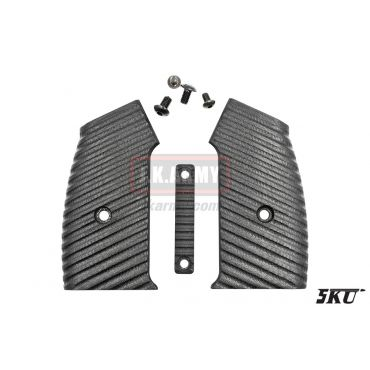 5KU CNC Moduler M4 GBB Grip Cover Set ( Type 4 )