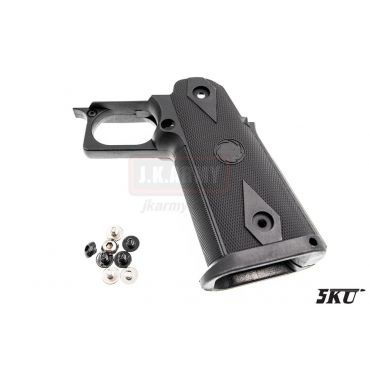 5KU ST Style Nylon Grip for TM Hi-Capa ( BK )