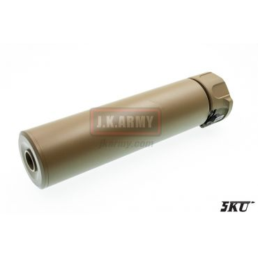 5KU SOCOM556-RC Dummy Silencer -14mm ( Tan )
