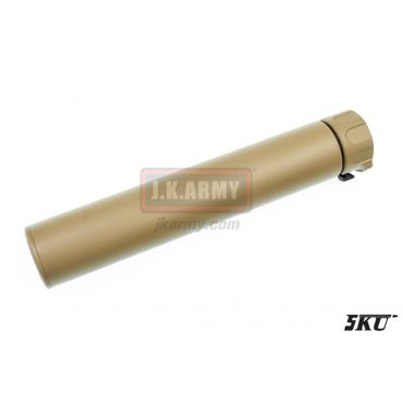 5KU SOCOM762-RC Dummy Silencer -14mm ( Tan )