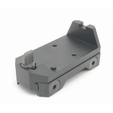 RGW Adjust Raise Airsoft Mount for RMR / SRO Red Dot Sight ( Black )