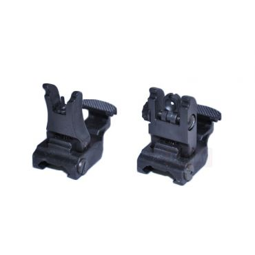 Nylon 7XL-F & 7XL-R Flip-Up Sights ( BK )