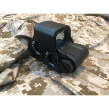 MF / EG E-PS3 Style Red Dot Sight w/ QD Mount for Airsoft MIL Version ( BK )
